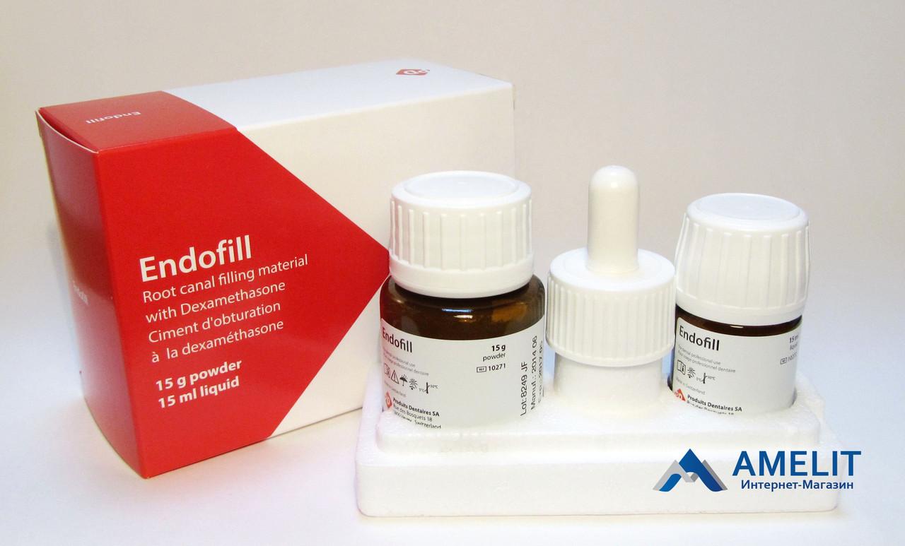 Эндофил (Endofill. PD), набор: порошок 15г + жидкость 15мл + аксессуары) - Стоматологические материалы, оборудование и инструментарий в Киеве