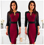 Женское платье двухцветное (в расцветках), фото 3