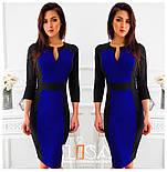 Женское платье двухцветное (в расцветках), фото 5