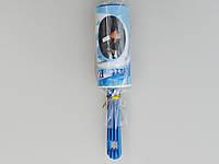 Ролик-липучка для чистки одежды на 10 листов синего цвета