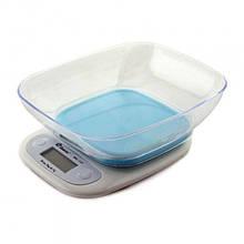 Весы с чашей для кухни Domotec  7 кг  ACS125 Blue