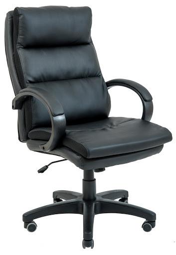 Кресло Монтана Пластик Кожзам Черный