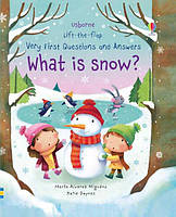 Usborne What is snow?