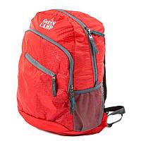 Складывающийся рюкзак (велорюкзак) GreenCamp, красный