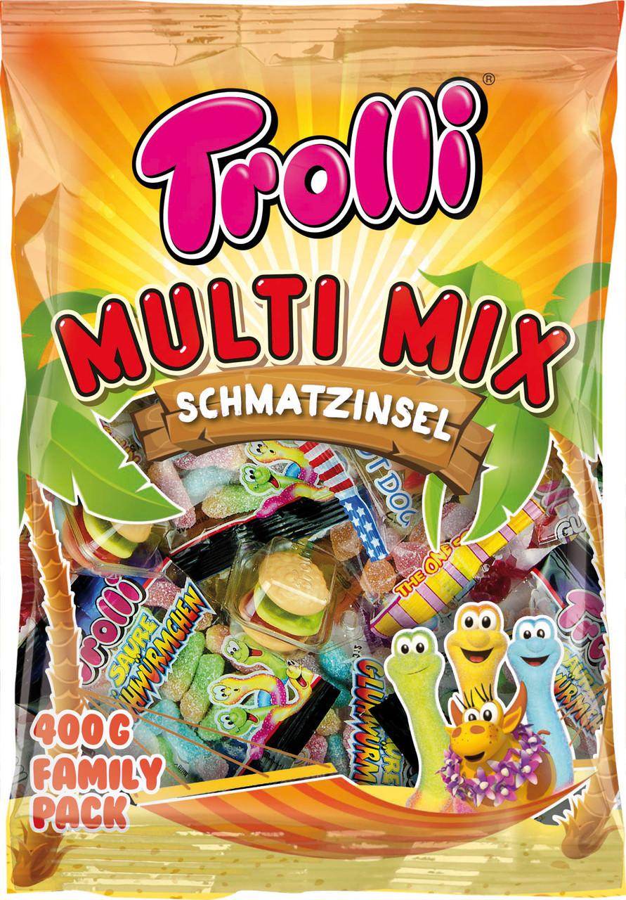Жувальні цукерки Trolli Multi Mix 500г