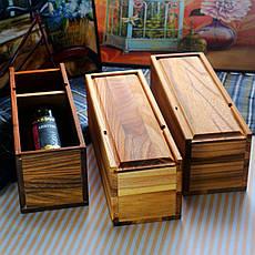 Деревянный бокс - подставка для вина Черешня/Берест, фото 2