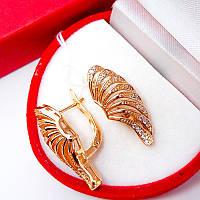 Серьги Сайпрус (медицинское золото) (6956)