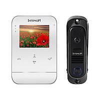 Комплект видеодомофона Intercom IM-11 (white+black)