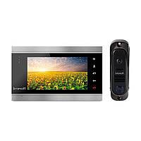Комплект видеодомофона Intercom IM-12 (black+black)