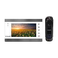 Комплект видеодомофона Intercom IM-12 (white+black)