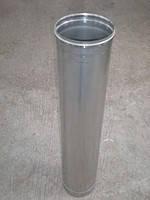 Труба дымоходная нерж. 350 мм 0,5 м