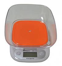 Весы с чашей для кухни Domotec  7 кг  ACS125 Orange