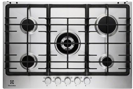 Варочная поверхность Electrolux EGG 7353 NOX (газовая поверхность, 75 см, 5 конфорок)