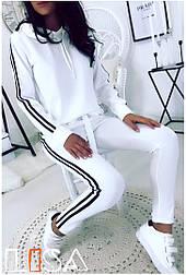 Женский спортивный костюм с капюшоном (в расцветках)