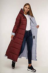 Куртка женская зимняя длинная