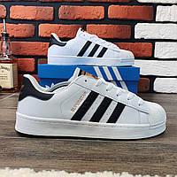 Кроссовки мужские Adidas Superstar 00066  ⏩ [ 41,42,43,44 ]
