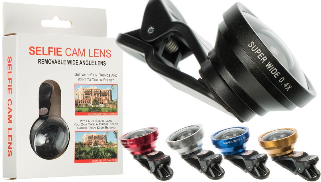 Внешний объектив для смартфона линза для макросъемки на телефон Selfie Cam Lens