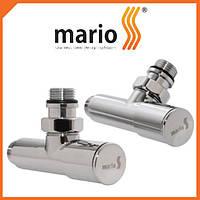 """Кран для полотенцесушителя MARIO 4.0.0101.55.P 1/2"""" (комплект) 4820111353224"""