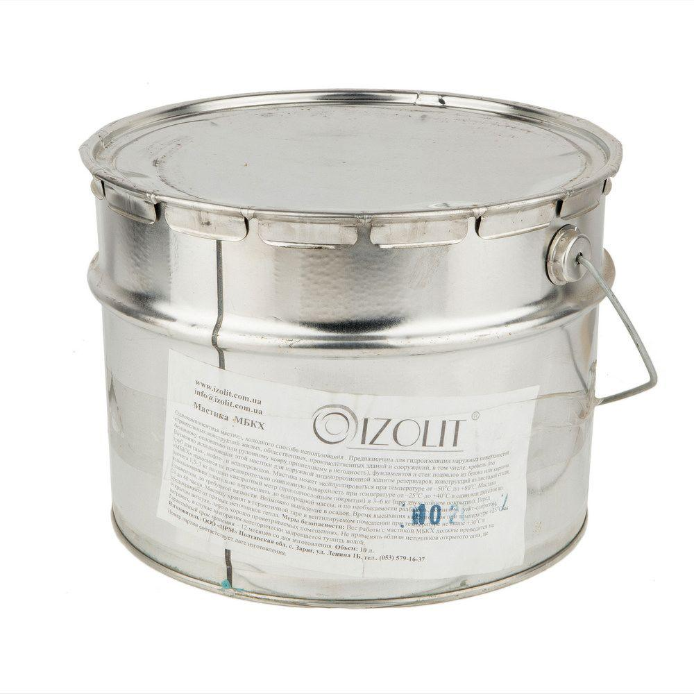 Мастика битумная Изолит МБКХ, 10 кг