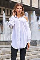 Стильная классическая женская блуза в 2х цветах JD Айза, фото 1