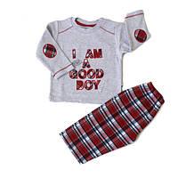 Детская пижама для мальчика в клетку