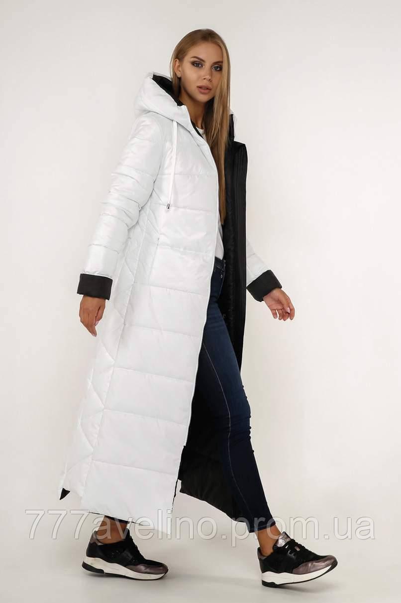 Куртка женская зимняя длинная модная