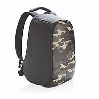 """Рюкзак антивор городской XD Design Bobby Compact Anti-Theft backpack 14"""" Зеленый камуфляж"""