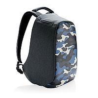 """Рюкзак антивор городской XD Design Bobby Compact Anti-Theft backpack 14"""" Синий камуфляж"""