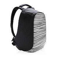 """Рюкзак антивор городской XD Design Bobby Compact Anti-Theft backpack 14"""" Зебра"""