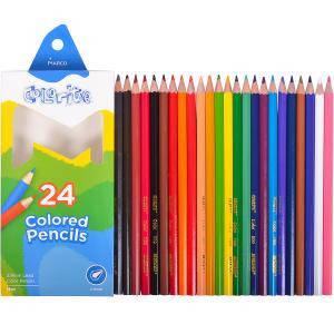 "Набор цветных карандашей 24 цв. MARCO ""Colorite"" 1100-24, фото 2"