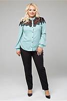 Легкая, воздушная женская блуза в 2х цветах LS Зефир, фото 1