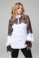 Потрясающе красивая женская блуза в 2х цветах LS Мателла, фото 1