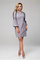 Красивое женское платье  в 2х цветах LS Альфреда, фото 1