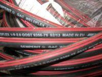 Рукава для газовой сварки и резки металлов ГОСТ 9356-75, класс I, Диам. 6 мм, Semperit красная полоса, 50 м.