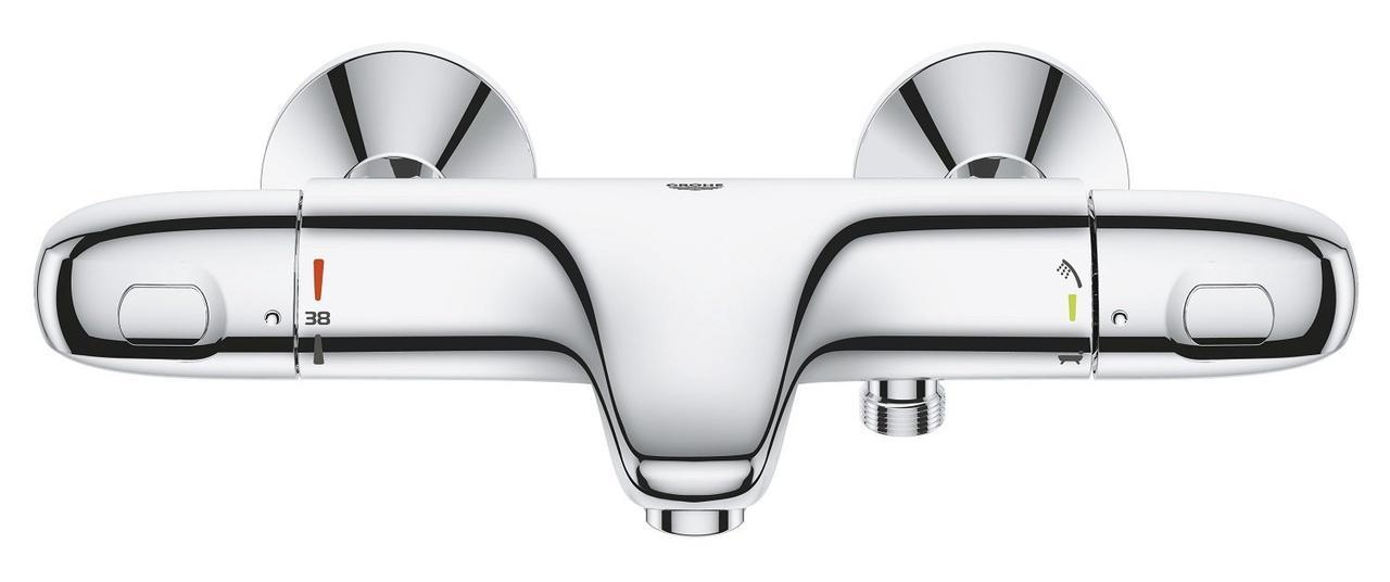 """Grohtherm 1000 New Термостат для ванны  1/2"""", настенный монтаж"""