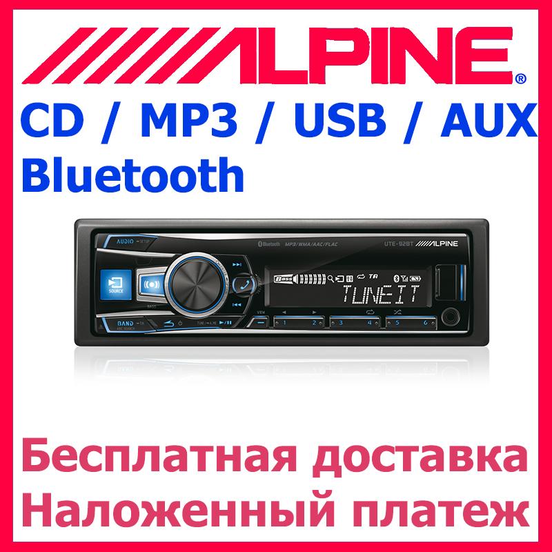 Автомагнитола ALPINE UTE-92BT