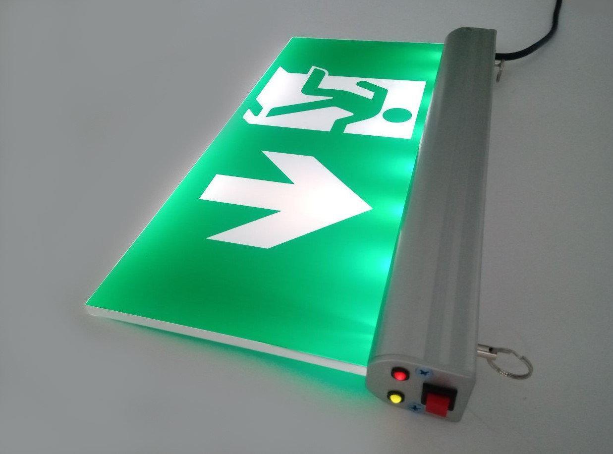 Указатель выхода аккумуляторный для аварийного освещения 220В LX-703-1