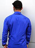 Мужской весенний Анорак (ветровка) Jordan синий о, фото 6