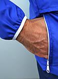 Мужской весенний Анорак (ветровка) Jordan синий о, фото 8