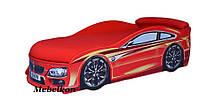 Кровать машина БМВ красная