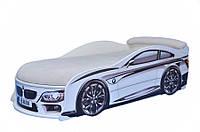 Кровать машина БМВ Белая, фото 1
