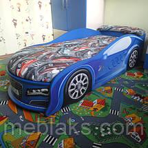 Кровать машина Ауди синяя Mebelkon, фото 3