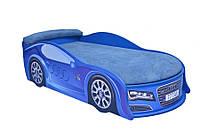 Кровать машина Ауди синяя (большая)