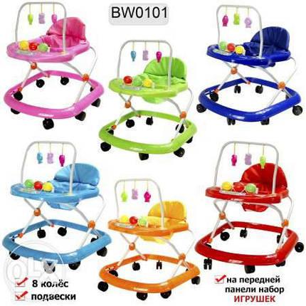 Ходунки детские BW0101, фото 2