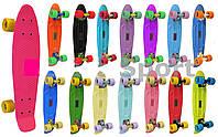 Penny (пенни) скейтборд PC SK-401 пластиковая рыба