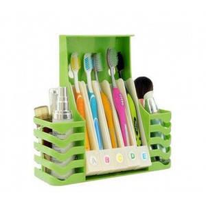 Многофункциональный набор для ванной подставка под зубные щетки Multifunctional Health Toothbrush Box 130227