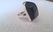 Кольцо серебряное  с раухтопазом