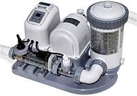 Хлоргенератор для дезинфекции воды + фильтрующий насос