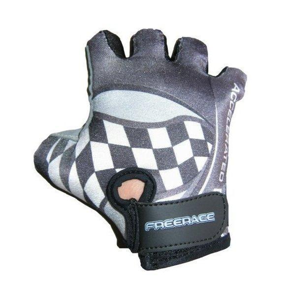 Велоперчатки детские Freerace FC-1000 (размер 4) Black