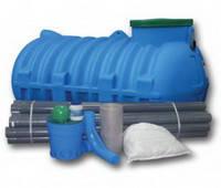 Комплекти обладнання для очищення стічних вод